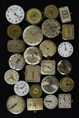 $ CDN7.04 • Buy Vintage Mens Watch Wind-up Movements Lot Of 25