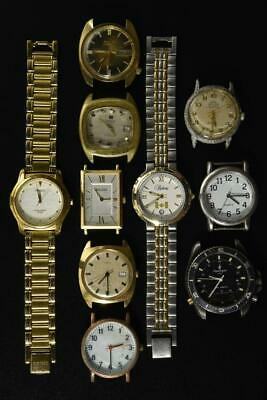 $ CDN11.97 • Buy Vintage Battery And Wind-up Mens Watches Lot Of 10