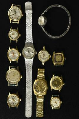 $ CDN71.79 • Buy Vintage Wind-up And Automatic Watches Lot Of 12