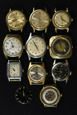 $ CDN17.60 • Buy Vintage Wind-up And Automatic Mens Watches Lot Of 10