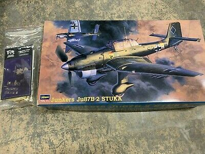 $52.95 • Buy *PACKAGE DEAL* 1/48 Hasegawa Junkers Ju87B-2 STUKA PLUS Verlinden Update Kit