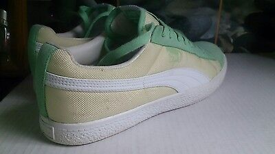 PUMA X UNDFTD Clyde Ballistic Green Ash/White UK9 US10 DS Rare Undefeated • 25.99£