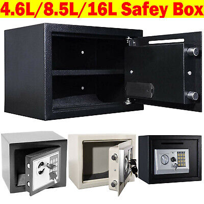 £44.16 • Buy Wall Floor Mounted Security Safe Money Cash Deposit Box Office Home Safety Mini