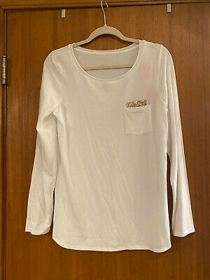 $39 • Buy Lilly Pulitzer Resort White Louella Top Med NWT