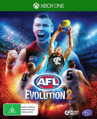 AU66.95 • Buy AFL Evolution 2 Xbox One Game NEW