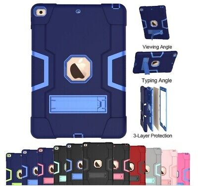 AU22.95 • Buy For IPad 8th 7th Gen 10.2 Case Shockproof Hybrid Rubber Rugged Tough Stand Cover