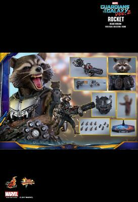 $279 • Buy Hot Toys 1/6 Marvel Guardians Of The Galaxy Vol 2 MMS411 Rocket Figure New