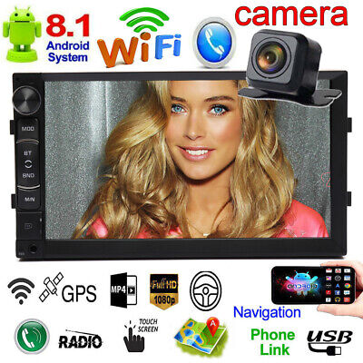 £97.33 • Buy For BMW 3 E46 M3 7-inch Android 8.1 Car Radio Stereo In-Dash GPS Navi + Camera