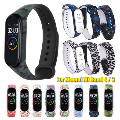 $9.91 • Buy Colorful Wristbands Bracelet Strap For Xiaomi Mi Band 4 3 Silicone Watch Band