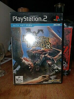 AU79.20 • Buy Monster Hunter (Sony Playstation 2, 2005) Ps2 AUS PAL
