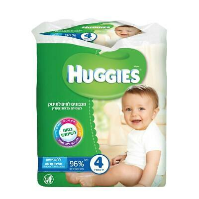 AU27.45 • Buy Huggies Pack Of 4 Moist Baby Wipes No Scent 64 Wipes X4