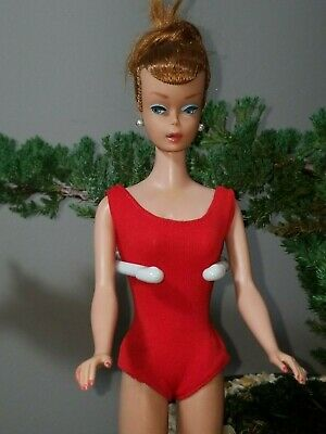 $ CDN141.03 • Buy Vintage Barbie Titian Red Head Swirl Ponytail With Complete Outfit