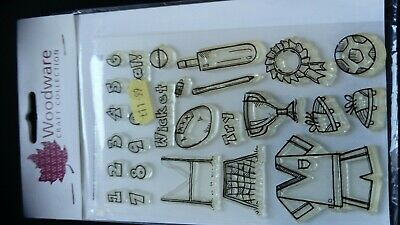 Woodware Stamps Clear Magic • 2.50£