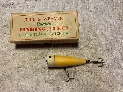 $ CDN111.07 • Buy Till & Weaver Chuggit In The Box Texas Old Fishing Lure 8