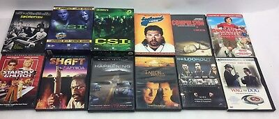 $ CDN37.70 • Buy LOT OF 12 MOVIE/ TV DVDs  CSI, Action,etc