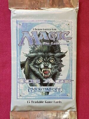 AU31.95 • Buy Magic The Gathering ICE AGE New Sealed Booster Pack MTG