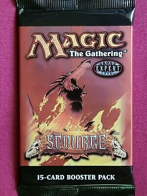 AU17.50 • Buy Magic The Gathering SCOURGE New Sealed Booster Pack MTG