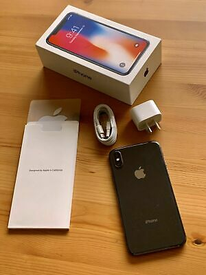 AU420 • Buy Apple IPhone X - 256GB - Space Grey (Unlocked) A1865 (CDMA   GSM) (AU Stock)