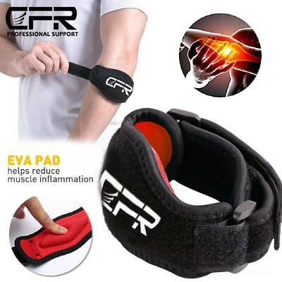 Tennis Elbow Support Golfers Elbow Arthritis Pain Brace Gym Sport Strain Strap • 5.29£