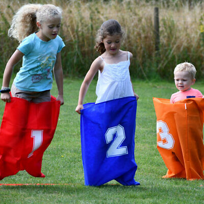 Garden Games Sports Day Party Set - Egg And Spoon, Sack Race And More • 27.11£