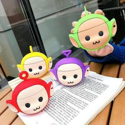 $ CDN6.69 • Buy For AirPods Case 3D Cartoon Teletubbies Silicone Earphone Charging Cover