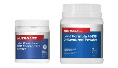 AU42.95 • Buy New NUTRALIFE Glucosamine Chondroitin MSM Joint Food Powder 300g 1KG 2KG Range