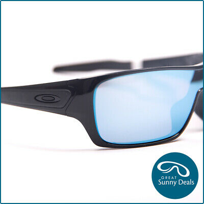 AU197.95 • Buy Oakley Turbine Rotor Polarised Polished Blk Prizm Deepwater (9307-08) Sunglasses