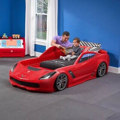 $350 • Buy Step2 Z06 Corvette Convertible Toddler-to-Twin Bed (Local Pick Up Only)