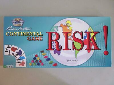 $18.95 • Buy RISK 1959 Classic Reproduction Parker Brothers Continental Game 2009 Complete