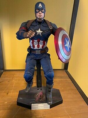 $335 • Buy Hot Toys Captian America Civil War The Avengers Sideshow Collectibles Marvel Mcu