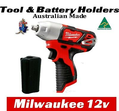 AU7 • Buy Milwaukee M12 Tool & Battery Holder Mount Bracket Storage 12v 12 V Drill Impact