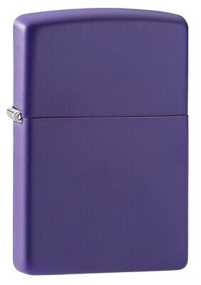 $18.23 • Buy Zippo Purple Matte Windproof Pocket Lighter, 237