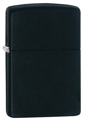 $18.23 • Buy Zippo Classic Black Matte Windproof Pocket Lighter, 218