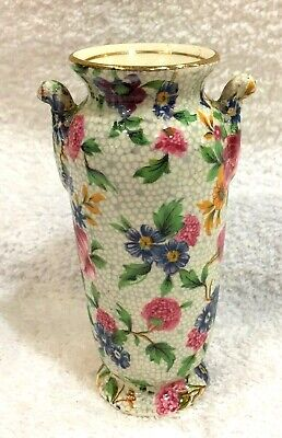 $ CDN156.23 • Buy Old Cottage Chintz Royal Winton Pekin Bud Vase 3 7/8  Inches In Great Shape SHP