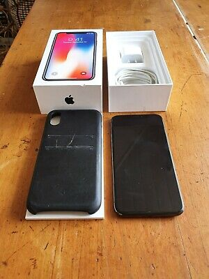 AU600 • Buy Apple IPhone X - 64GB - Space Grey - Excellent Condition