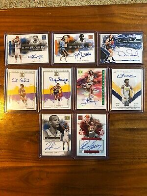 $ CDN64.87 • Buy 2019-2020 Impeccable Basketball Auto Lot X9 Grant Hill Elgin Baylor Horry Lewis