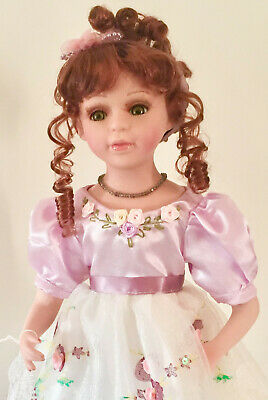 $ CDN60.90 • Buy Gorgeous Victorian Porcelain Child  Doll-Limited Edition Collectible Dolls-New