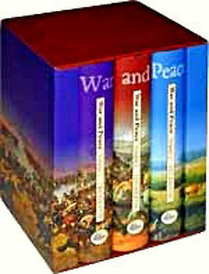 Leo Tolstoy - War And Peace Collector's Library Hardback Book Box Set SEALED NEW • 9.99£