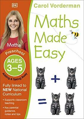 Maths Made Easy Adding And Taking Away Age By Carol Vorderman New Paperback Book • 6.44£