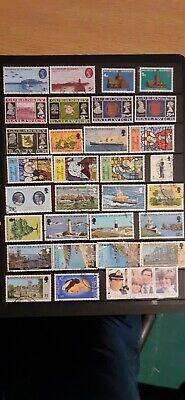 33 Stamps From Guernsey • 0.99£