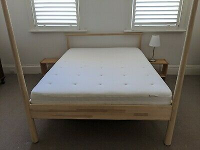 AU100 • Buy Ikea Gjora Queen Bed Base And Mattress Excellent Condition