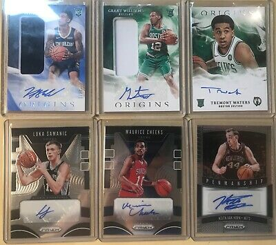 $ CDN28.98 • Buy Lot Of (22) AUTO & RELIC Panini PRIZM OPTIC ORIGINS Autograph Jersey RC 19 20