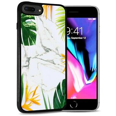 AU9.99 • Buy ( For IPhone 6 Plus / 6S Plus ) Back Case Cover PB12592 Tropical Palm Marble