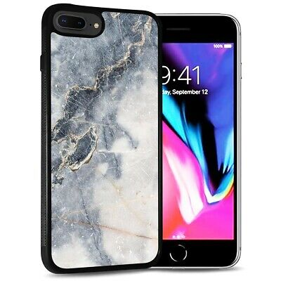 AU9.99 • Buy ( For IPhone 6 Plus / 6S Plus ) Back Case Cover PB12589 Grey Marble