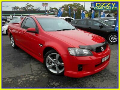 AU9950 • Buy 2008 Holden Commodore VE SS-V Red Manual 6sp M Utility