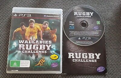 AU7 • Buy Wallabies Rugby Challenge PS3 Sony Playstation 3 Free Postage