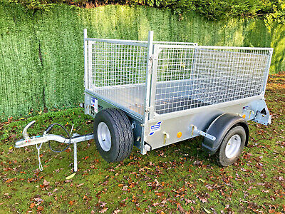 NEW Ifor Williams P6e Unbraked Ramp & Mesh Trailer | 6ft 6  X 4ft | 750kg |  • 1,449£