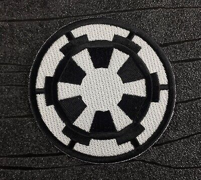 £4.49 • Buy Star Wars Galactic Empire Embroidered Iron On Patch (75mm)