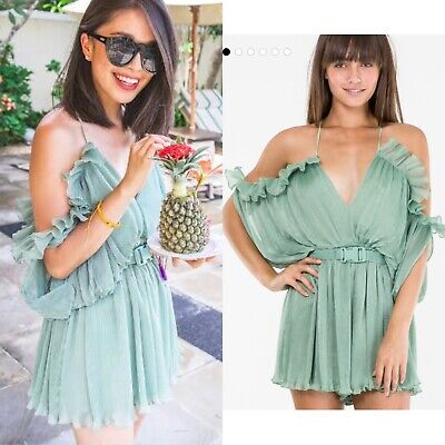 AU99 • Buy Alice Mccall At First Sight Playsuit