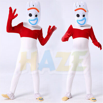 Vivid Anime Toy Story 4 Forky Masquerade Cosplay Mask Halloween Props Masks New  • 0.01£